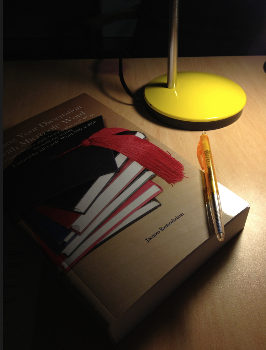 turning your dissertation into a book manuscript