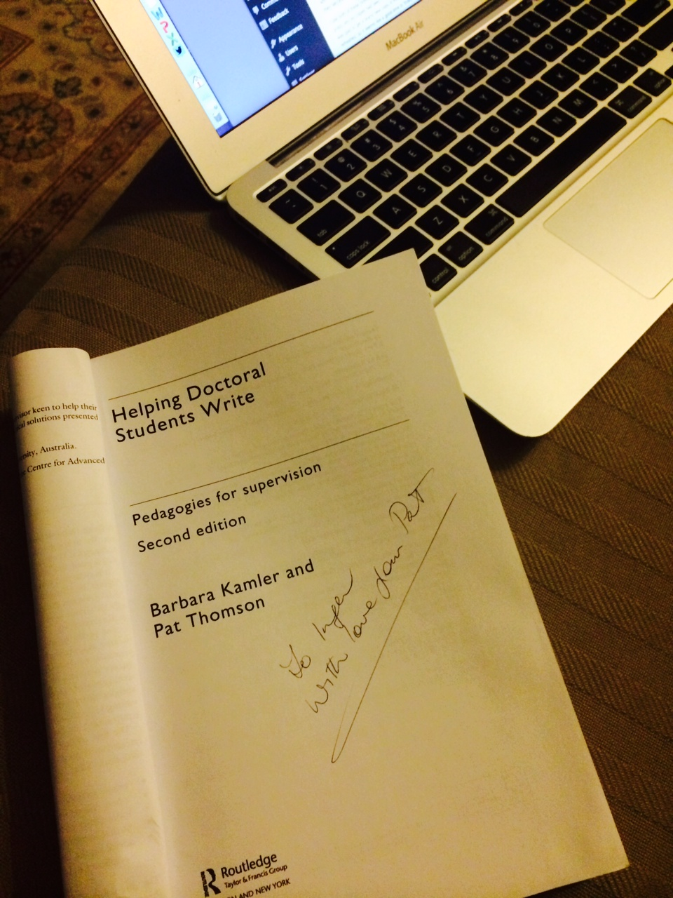 the best two books on doing a thesis the thesis whisperer photo
