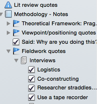 thesis whisperer evernote