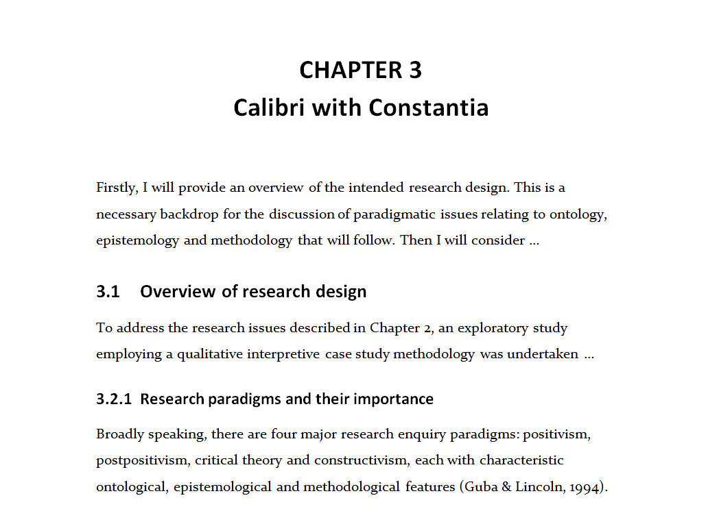 Calibri Constantia  What Font Should A Resume Be In
