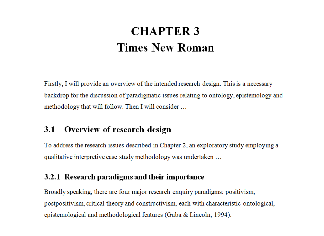 What Font Should I Choose For My Thesis  The Thesis Whisperer Times New Roman