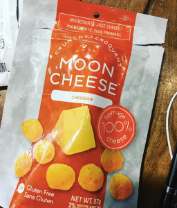 A deliberately unprovocative picture of the package of cheese snacks I ate while I wrote this post. Nothing political to see here. Moving on!