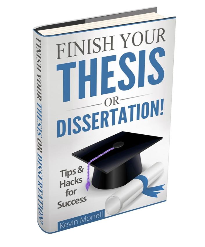 Books writing dissertation proposal